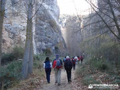 Parque Natural del Barranco Río Dulce;rutas valencia senderismo senderismo almeria